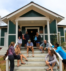 Picture from the Ethnomathematics Institute Kalaupapa, Molokai in Summer 2011 (credit: http://goo.gl/3H2bf)